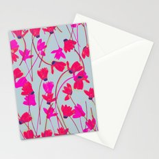 Flowering Cyclamen #4 Stationery Cards