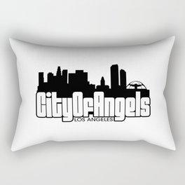 City Of Angels : Los Angeles Rectangular Pillow