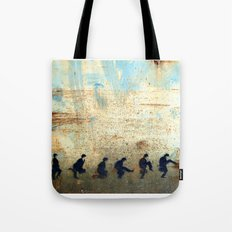 Ministry of Silly Walks Tote Bag