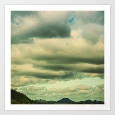 Pinnacle Mountain #2 Art Print