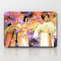 angels iPad Cases featuring Angels by Saundra Myles