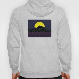 Outrun to the Sun / 80s Retro Hoody