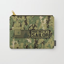 Proud Uncle of a Sailor Carry-All Pouch