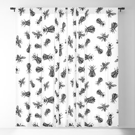 occult bees Blackout Curtain