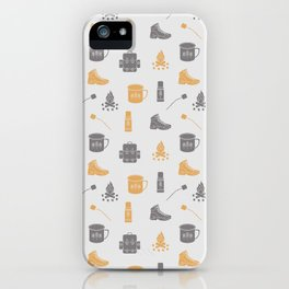 Camping (Pollen) iPhone Case