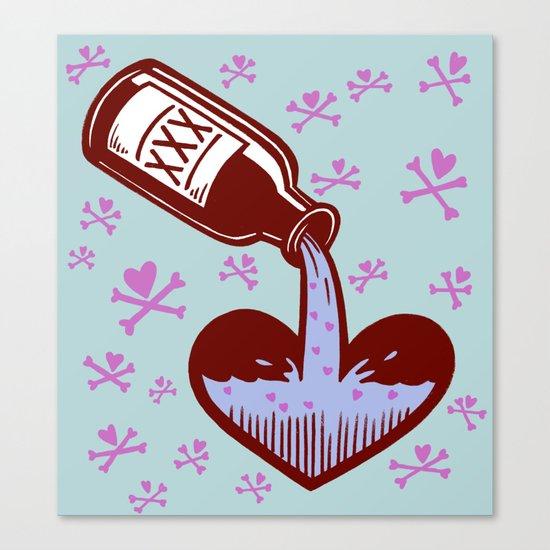 Drunkenheart Canvas Print