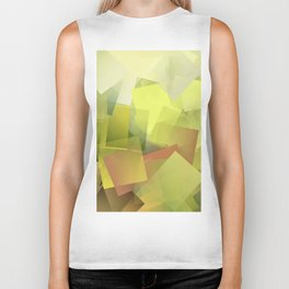 Cubism Abstract 175 Biker Tank