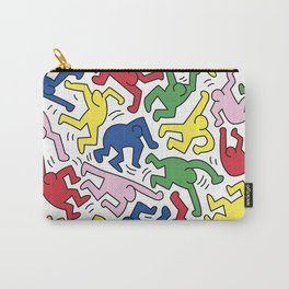 Dance Doodles homage to Keith Haring Carry-All Pouch