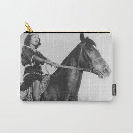 Yai on Horseback Carry-All Pouch