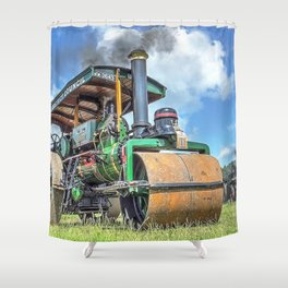 Marshall Steam Roller Shower Curtain