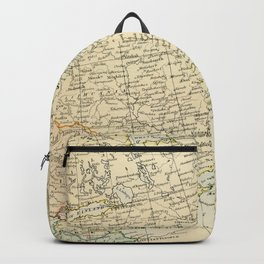 Old Map of the European Russia Backpack
