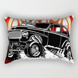 62 Volvo Gasser 2a BLACK Rectangular Pillow