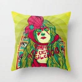 Rompase en caso de silencio (break in case of silence) Throw Pillow