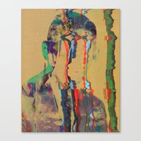 tchmo Canvas Prints featuring Untitled 20140627w by tchmo
