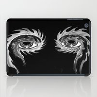tool iPad Cases featuring Tool eyes by SnowVampire