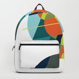 Binaries on White Backpack