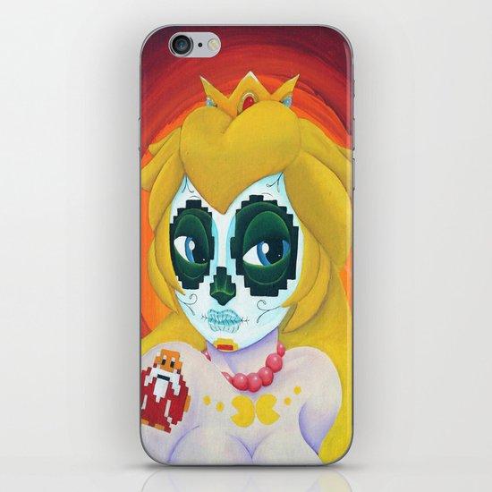 Day of the Digital Dead Princess Peach iPhone & iPod Skin