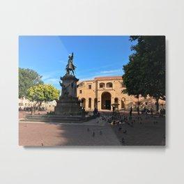 Plaza Colón in Santo Domingo Metal Print