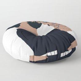 Russ Cartoon Floor Pillow