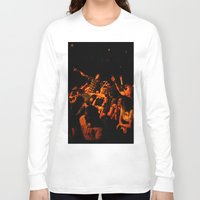it crowd Long Sleeve T-shirts featuring The crowd by Old Sole Studio