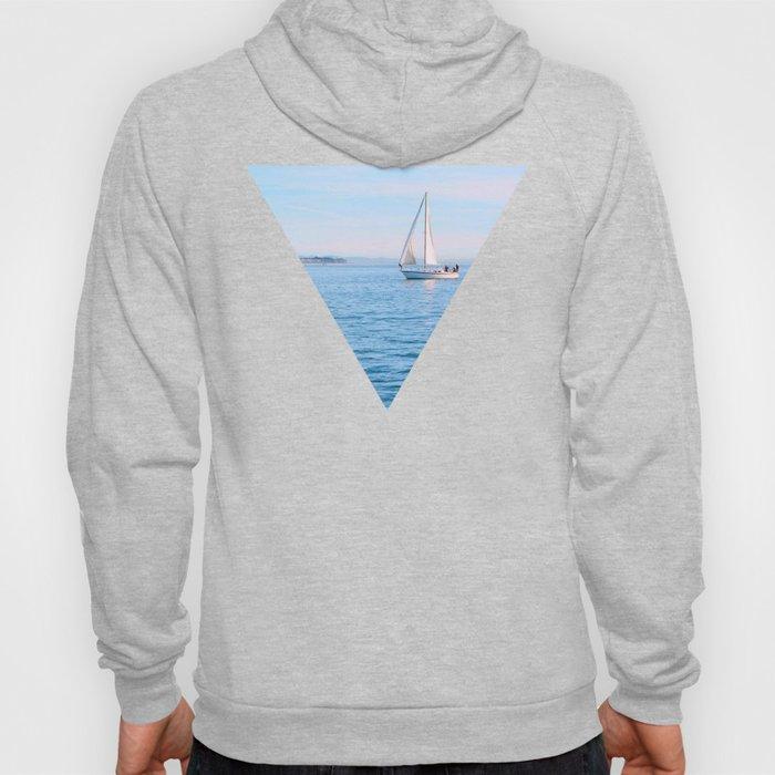 Blue Sailing Hoody