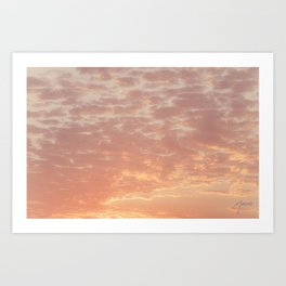 0359 Southern California Desert Sunsets Art Print