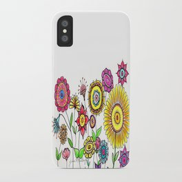Bright Flowers II iPhone Case