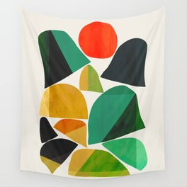 Mountains as the giants Wall Tapestry