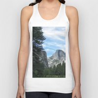 yosemite Tank Tops featuring Yosemite by Angela McCall