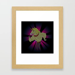 BUTTER LETTUCE PARTY Framed Art Print
