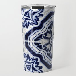 Azulejo VI - Portuguese hand painted tiles Travel Mug