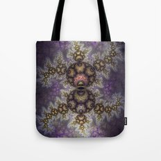 Magic in the air, fractal pattern abstract Tote Bag