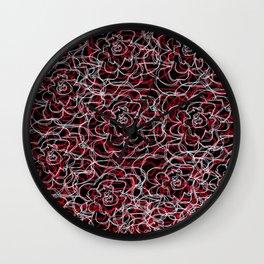 Floral pattern 20 Wall Clock