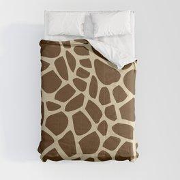 Giraffe Print Pattern Comforters