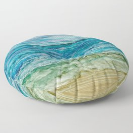 Ocean View Floor Pillow