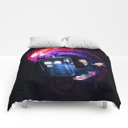 Doctor Who Space Surfing Comforters