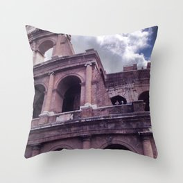The Colosseo Throw Pillow