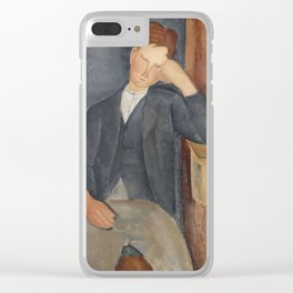 The Young Apprentice by Amedeo Modigliani Clear iPhone Case