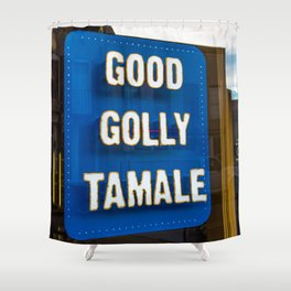 Good Golly Tamale Shower Curtain