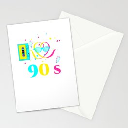 I Love the 90s Stationery Cards
