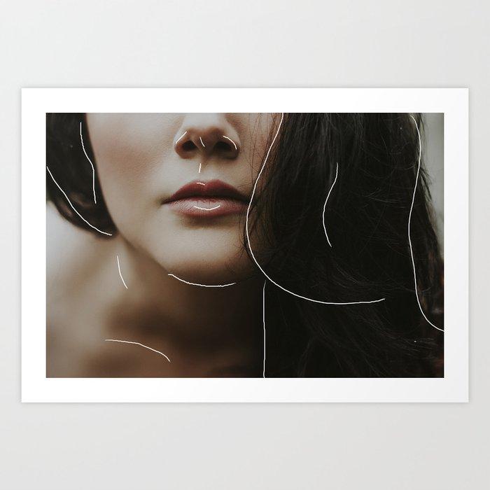 Face Forward Art Print