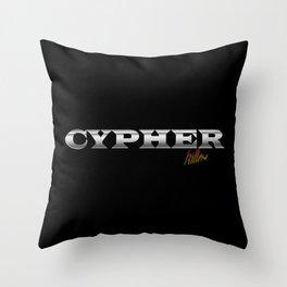 CYPHER Throw Pillow