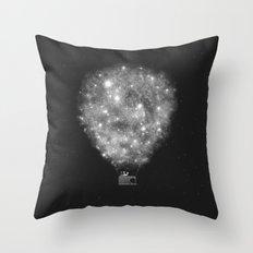 Supernova Sky Ride Throw Pillow