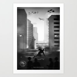 FlashXLimbo Art Print