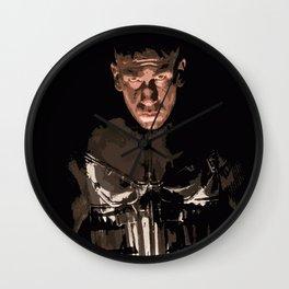 Frank Castle 3 Wall Clock