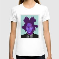 basquiat T-shirts featuring Basquiat by Grace Teaney Art