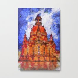 Church of Our Lady Metal Print