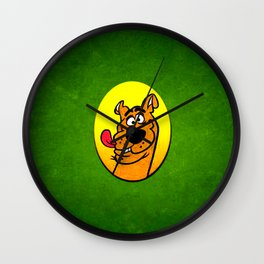 dog scooby Wall Clock
