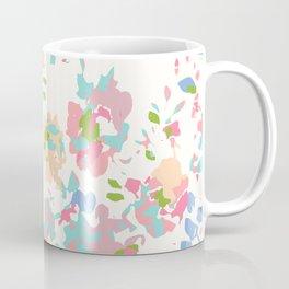 Fractured flowers Coffee Mug