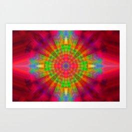 Kaleidoscope Dreams Art Print